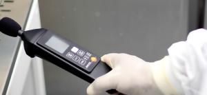 Teste de Ruído com decibelímetro
